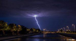 photo orage eclair Carly 06 21 audenge