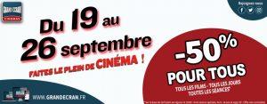 grand ecran promo 19 au 26 09 21