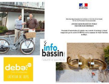 De l'actu éco du Bassin, en passant… 15/09/21 Du coté des entreprises… Andernos L'immobilier à vélo… puis une agence dans la...