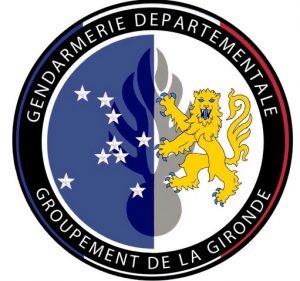 ecusson gendarmerie de la gironde